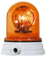 Sirena naranja (emergencia) para luz intermitente