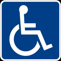Logo SIA Simbolo Internacional de Accesibilidad