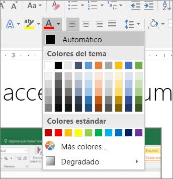 10 colores accesibles
