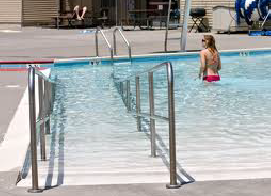 Piscina accesible
