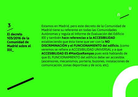 Datos del decreto 103/2016 de la Comunidad de Madrid