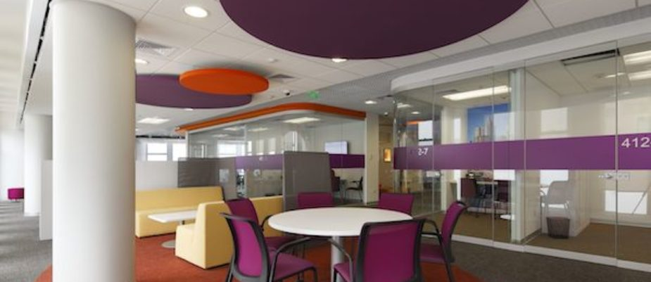 Oficinas de L'Oreal en Perú, con proyecto de 3g Office
