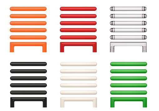 tiradores de colores